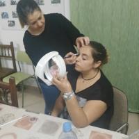 Taller de maquillaje en Sagrajas y Gévora. - 7