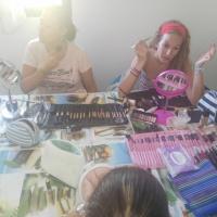 Taller de maquillaje en Sagrajas y Gévora. - 8