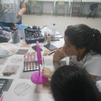 Taller de maquillaje en Sagrajas y Gévora. - 10