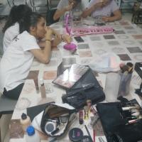 Taller de maquillaje en Sagrajas y Gévora. - 13