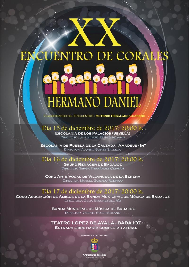 """XX Encuentro de Corales """"Hermano Daniel"""""""