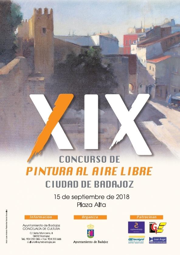 XIX Concurso de Pintura al Aire Libre Ciudad de Badajoz