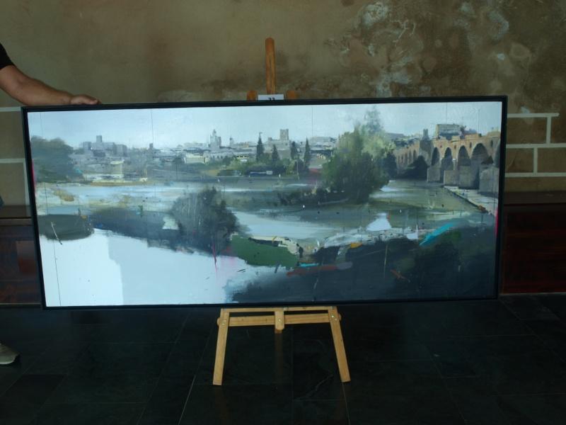 Premiados en el XIX Concurso de Pintura al aire libre Ciudad de Badajoz