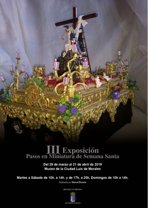 III Exposición Pasos en Miniatura de Semana Santa