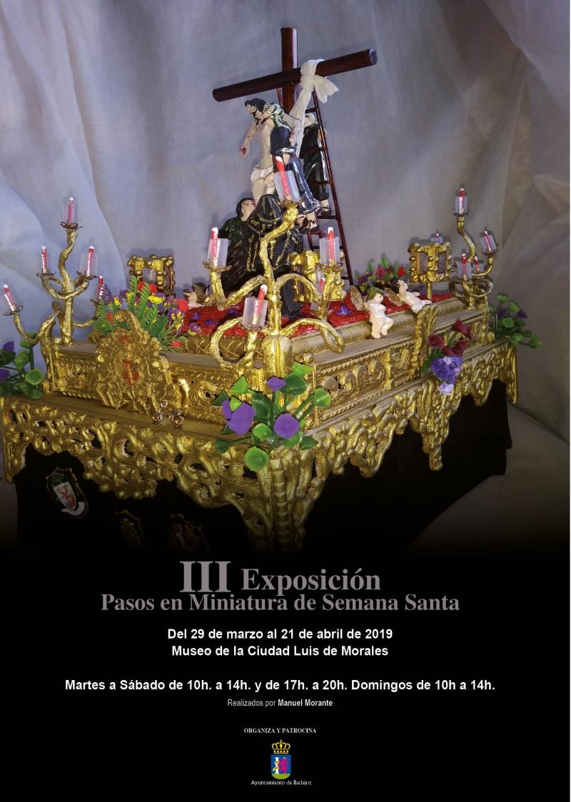 III Exposici�n Pasos en Miniatura de Semana Santa