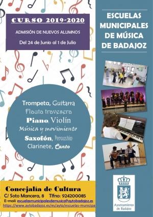 Escuelas Municipales de Música Curso 2019-2020