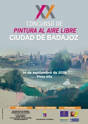 XX Concurso de Pintura al Aire Libre Ciudad de Badajoz