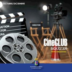 Cine Club Badajoz 2019 Octubre-Diciembre