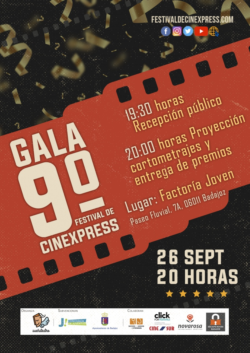 Premios Cinexpress en Badajoz