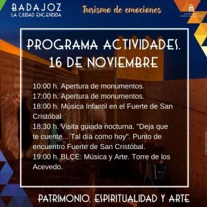 actividades 16 de noviembre