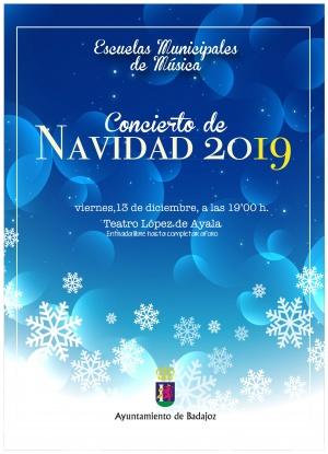 Concierto de Navidad de las Escuelas Municipales de Música