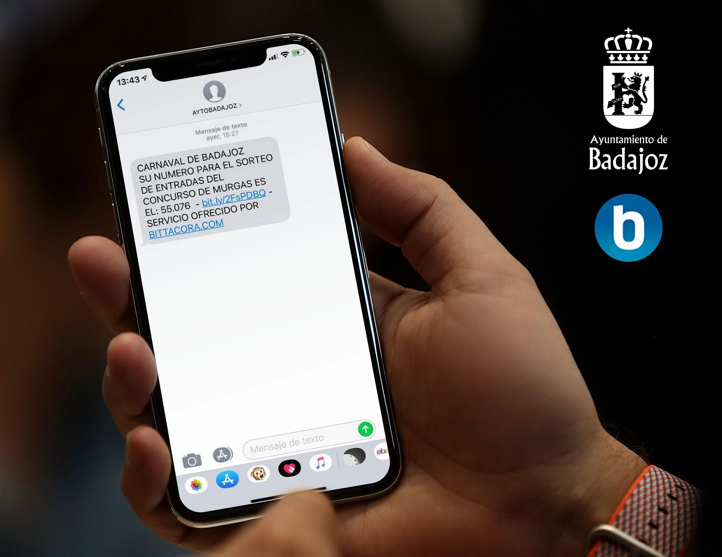 Captura SMS