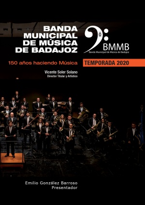 Banda Municipal de Música de Badajoz: Programa de la Temporada 2020
