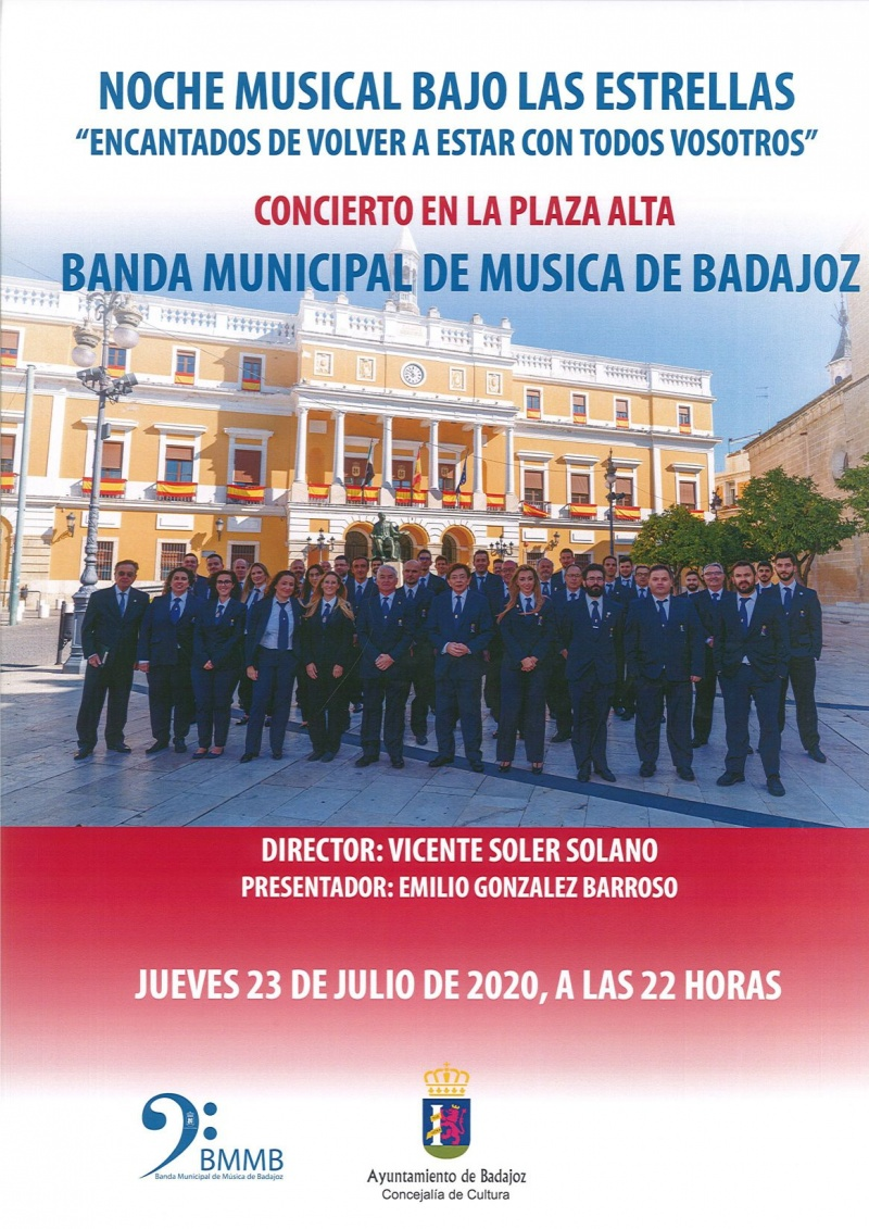 Concierto de la Banda Municipal de M�sica en la Plaza Alta
