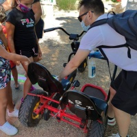 Coches a pedales en padanías - 4