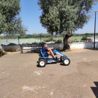 Coches a pedales en padanías - 5
