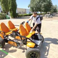 Coches a pedales en padanías - 6