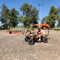 Coches a pedales en padanías - 7