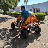 Coches a pedales en padanías - 8