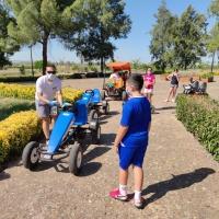 Coches a pedales en padanías - 9