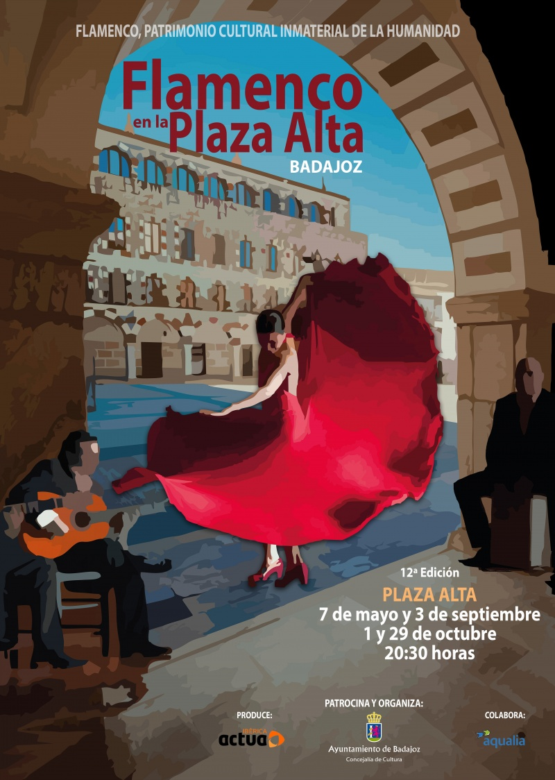 Flamenco en la Plaza Alta