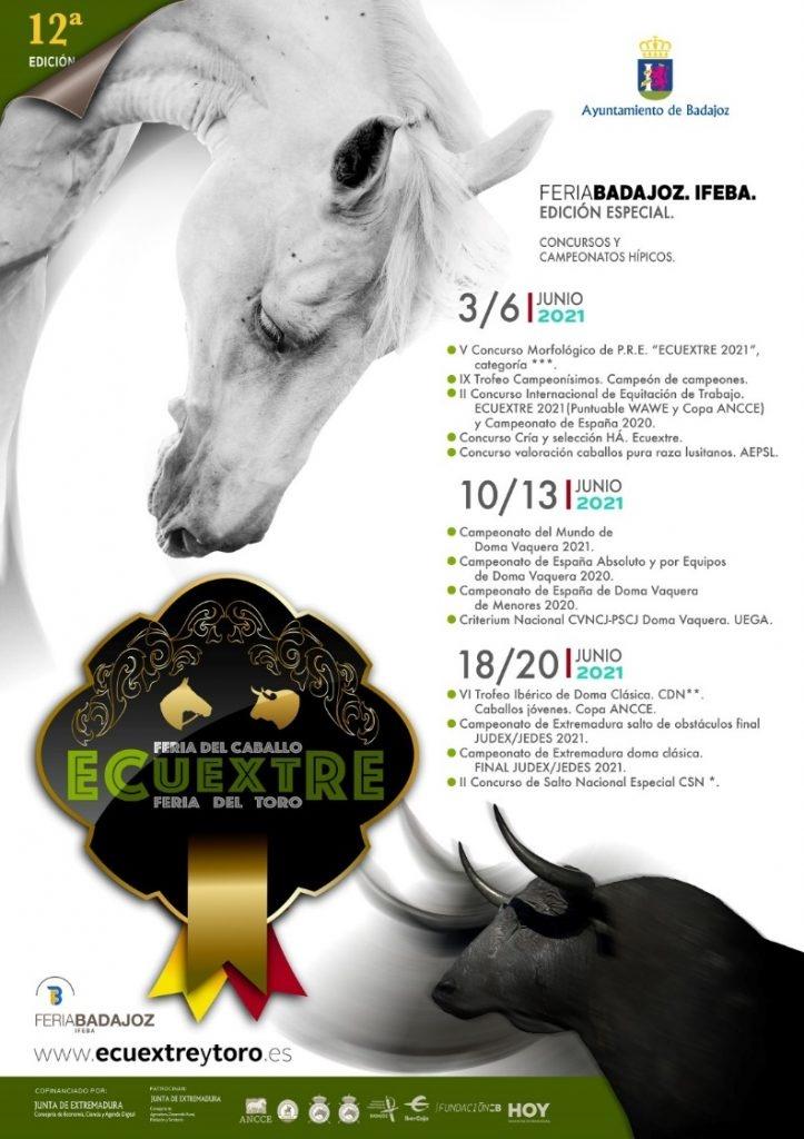 XII ECUEXTRE, Feria del Caballo y el Toro 2021