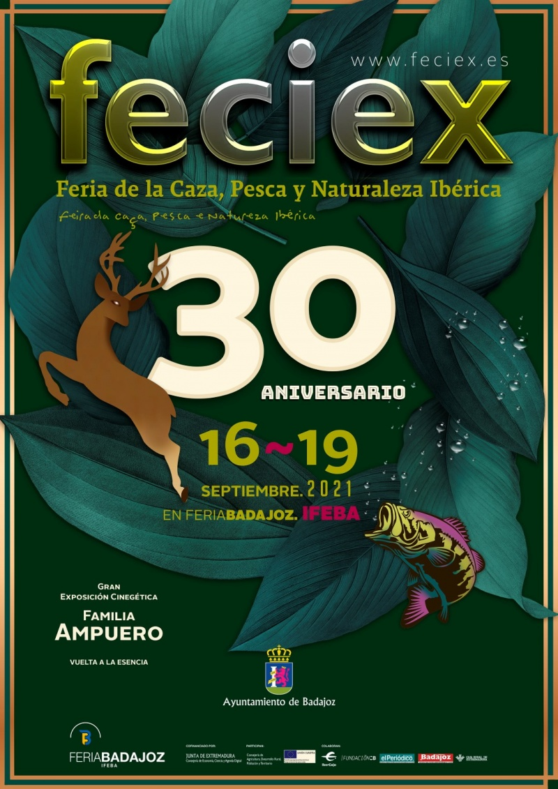 XXX FECIEX, Feria de la Caza, Pesca y Naturaleza Ib�rica 2021
