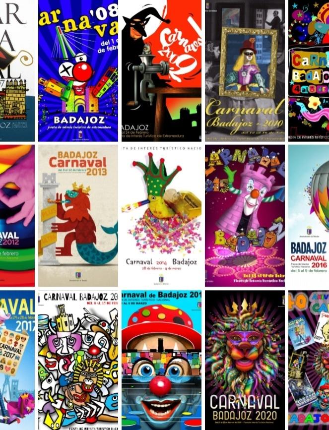 Bases del Concurso del Cartel del Carnaval de Badajoz 2022
