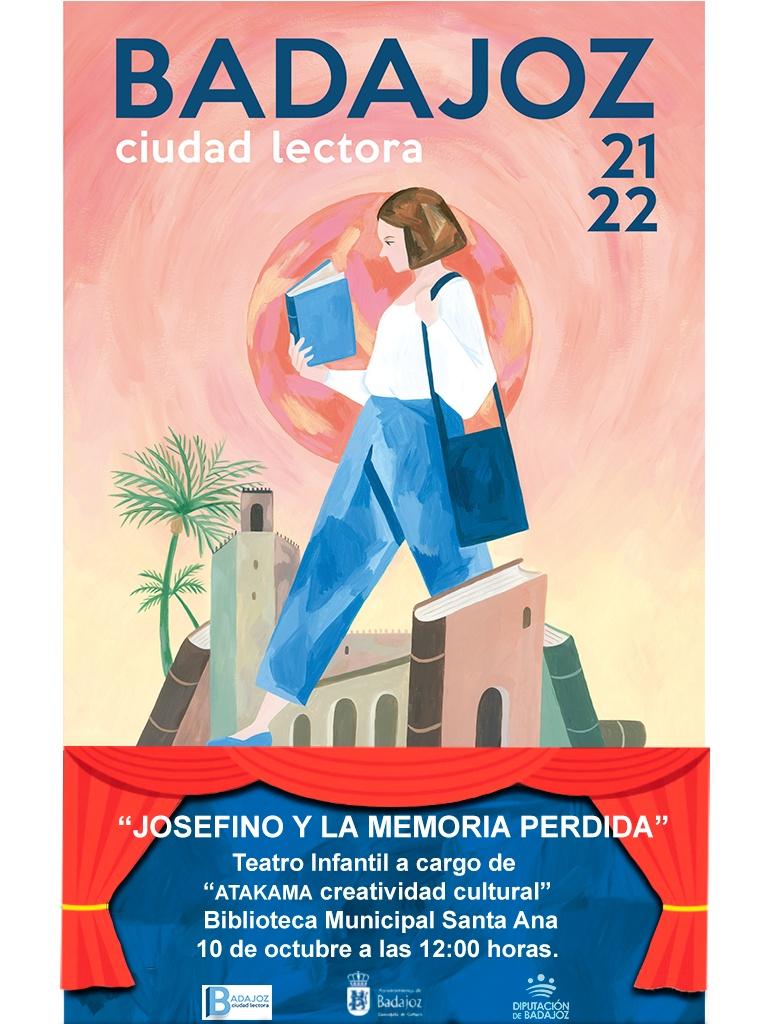 """Teatro Infantil """"JOSEFINO Y LA MEMORIA PERDIDA"""""""