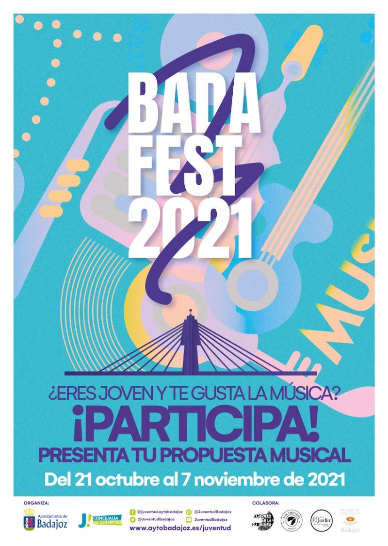 Cartel edici�n 2021 BADAFEST