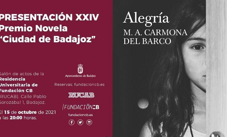 Presentaci�n del XXIV Premio de Novela Ciudad de Badajoz