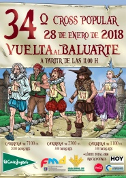 "34º CROSS POPULAR ""VUELTA AL BALUARTE"""