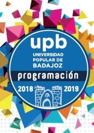 Universidad Popular de Badajoz. Programa 2018-2019