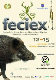 29ª Feciex, Feria de la Caza, Pesca y Naturaleza Ibérica del 12 al 15 de septiembre de 2019