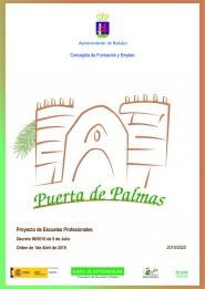 ESCUELA PROFESIONAL PUERTA DE PALMAS