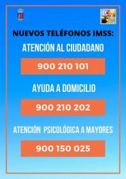 TELÉFONOS DEL INSTITUTO MUNICIPAL DE SERVICIOS SOCIALES