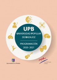 Universidad Popular de Badajoz.Cursos 2020-2021 1ª Fase