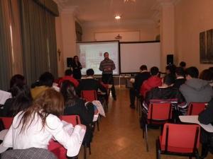 Sesión en el Colegio Santa María Asumpta