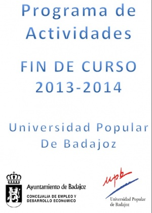 Programa de Actividades Fin de Curso