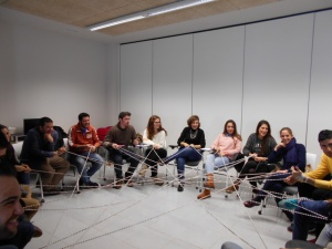 20 jóvenes aprenden a buscar trabajo en equipo en la primera Lanzadera de Empleo de Badajoz