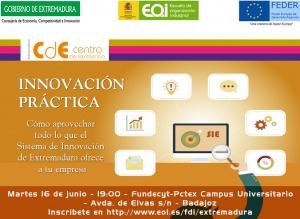 Innovación práctica: como aprovechar todo lo que el sistema de innovación de Extremadura ofrece a tu empresa