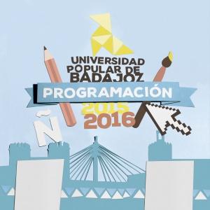 Universidad Popular de Badajoz. Programa 2015-2016