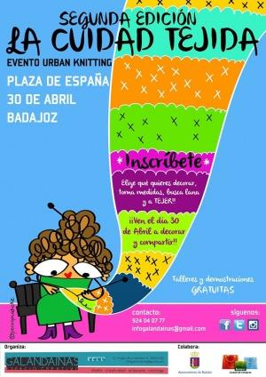 """La ciudad tejida""""Urban Knitting. 2ª Edición."""