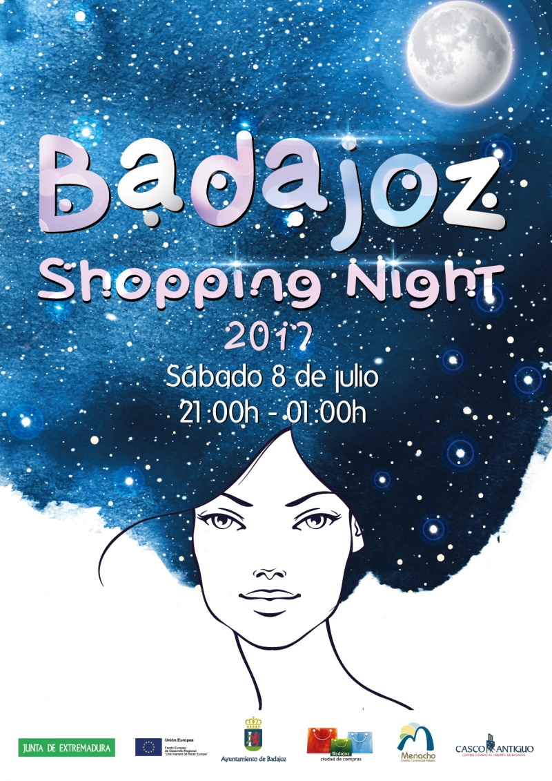SHOPPING NIGHT BADAJOZ 2017