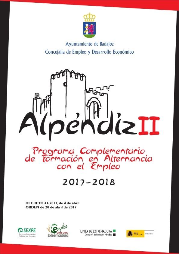 ABIERTO EL PLAZO DE PRESENTACI�N DE SOLICITUDES PARA ALUMNOS - TRABAJADORES DEL PROYECTO ALPENDIZ II