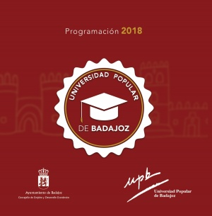 Universidad Popular de Badajoz. Programa 2018