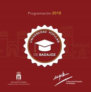 Universidad Popular de Badajoz. Programa 2018