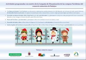 Programa actividades navideñas