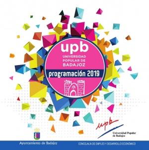 Universidad Popular de Badajoz. Programa 2018-2019 2ª Fase
