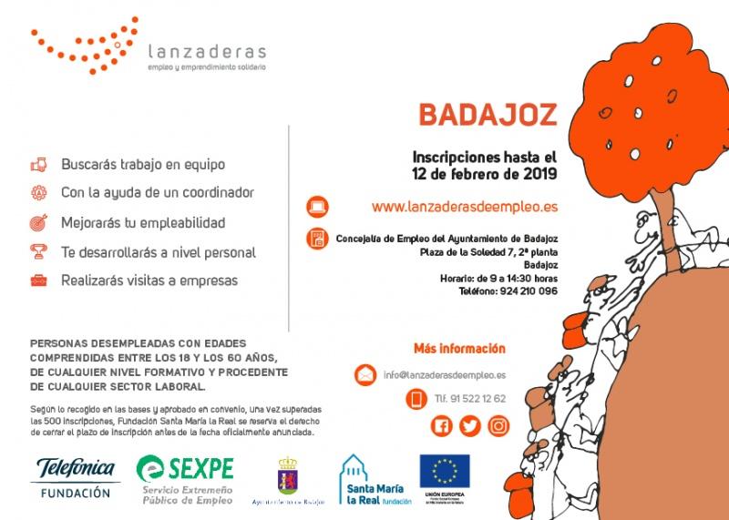 Comienza a funcionar la V Lanzadera de Empleo de Badajoz